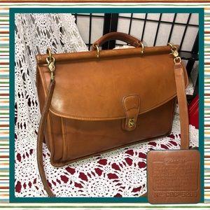Vintage COACH C9C 5266 Beekman Briefcase Messenger